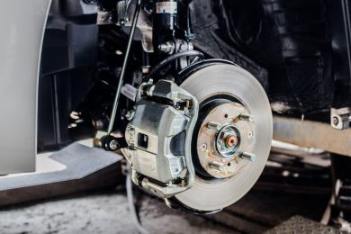 brake pad replacement and servicing