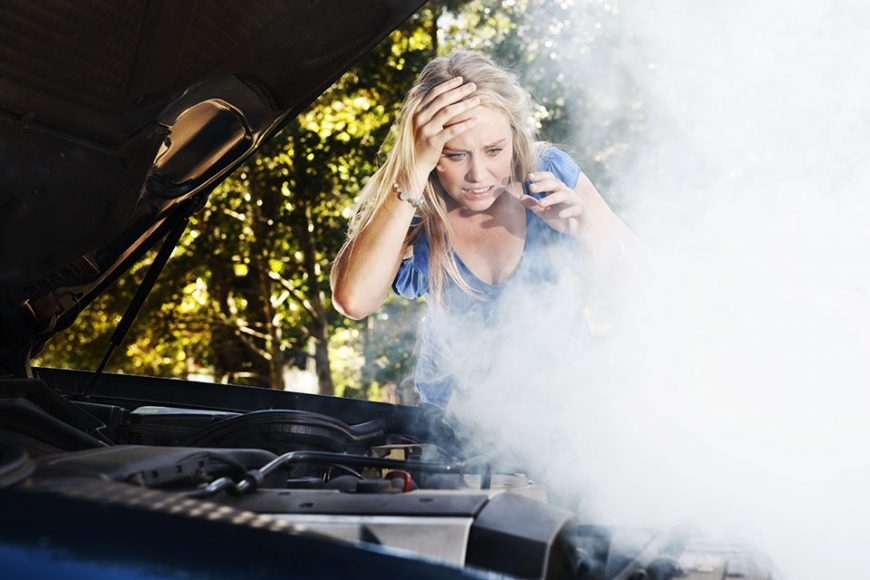 Don't let your car overheat