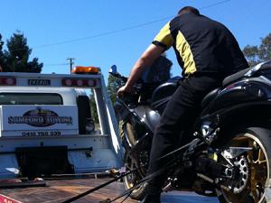 samford motorbike towing